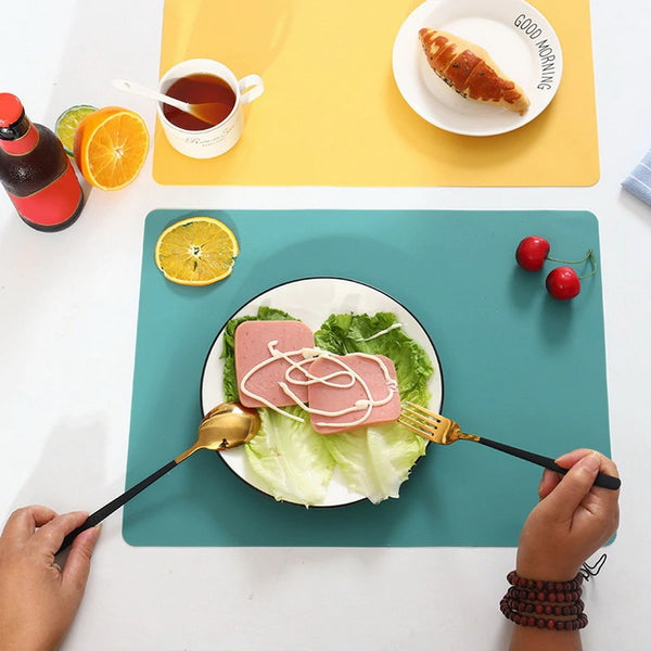 Silicone Waterproof Placemat(2sets)