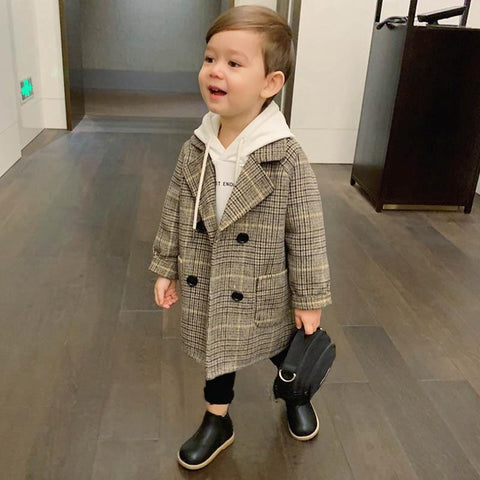 Children Wool Coat