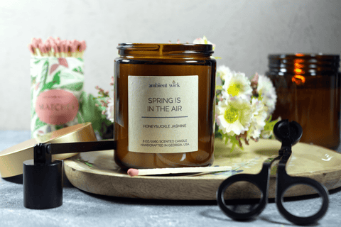 Spring is in the Air Soy Candle