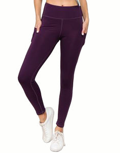 Yoga Leggings High Waist Slimming with Multi Pockets