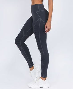 High Rise Moto Leggings