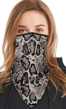 Load image into Gallery viewer, Face Mask Scarf Shield Bandana Ear Loops Neck Gaiters Balaclava