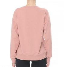 Load image into Gallery viewer, Pullover Round Neck Loungewear Sweatshirt with Kangaroo Pockets in Super Soft French Terry