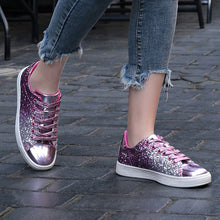 Load image into Gallery viewer, Shining Glitter Beautiful Vulcanized Sneakers for Woman