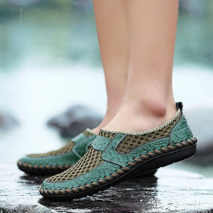 Breathable Mesh Loafers for Men