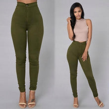 Load image into Gallery viewer, Plus Size High Waist Skinny Jeans