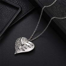 Load image into Gallery viewer, Angel Wings Pendant Necklace