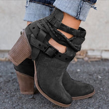 Load image into Gallery viewer, Buckle Strap Women Ankle Boot