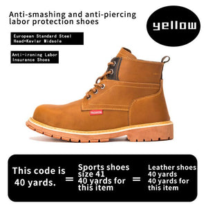 Safety Anti-Puncture  Men's Safety Boot