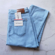 Load image into Gallery viewer, Vintage High Waist Denim Jeans for Women