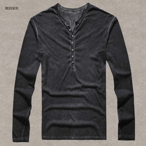 Casual High quality Men  Cardigan T shirt