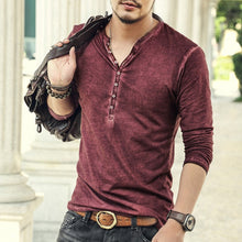Load image into Gallery viewer, Casual High quality Men  Cardigan T shirt