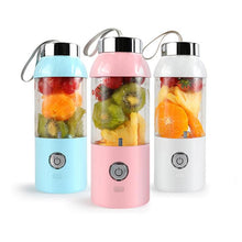 Load image into Gallery viewer, Rechargeable Portable Juice Fruit Blender
