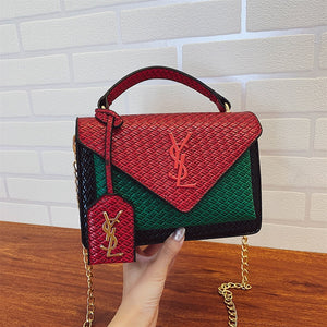 Single Shoulder Messenger Flap Bag for Women