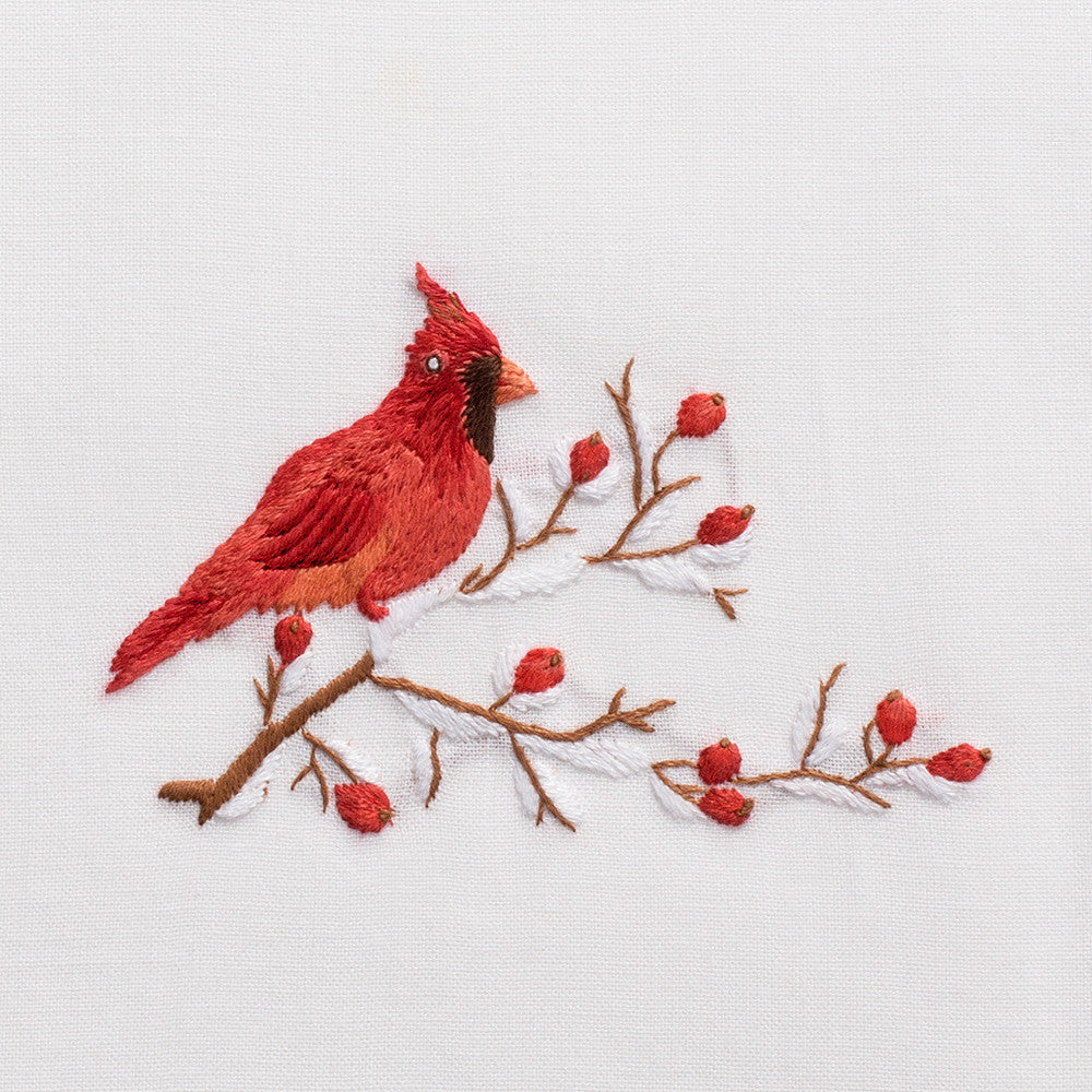 Cardinal<br>Hand Towel - White Cotton