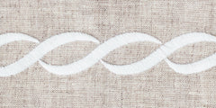 Greenwich Chain<br>Hand Towel - Italian Linen<br>8 Colors