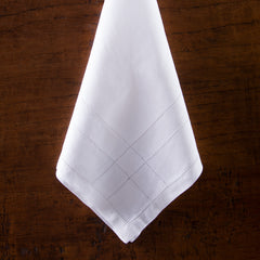 Doppio Estate<br>Napkin - White Linen
