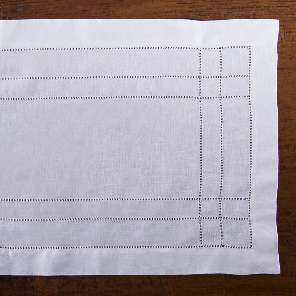 Doppio Estate<br>Placemat - White Linen