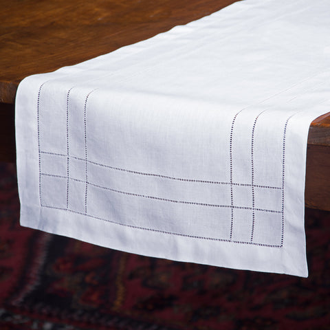 Doppio Estate<br>Runner - White Linen