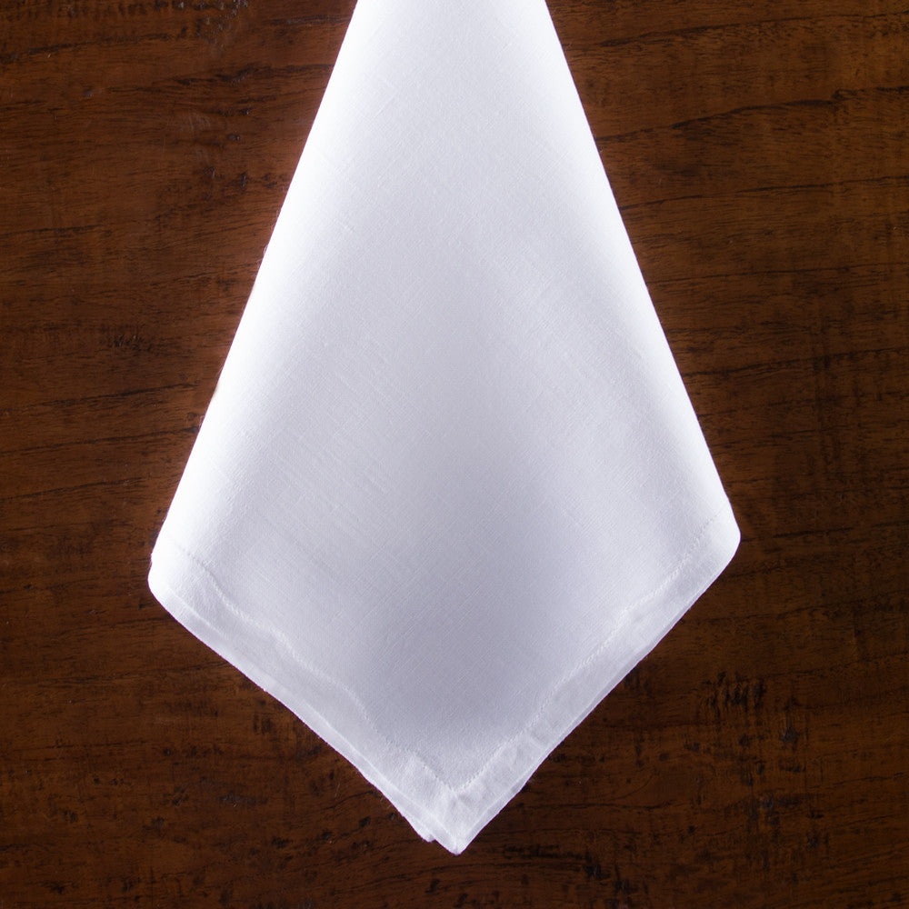 Franc&ecirc;s Estate<br>Napkin - White Linen