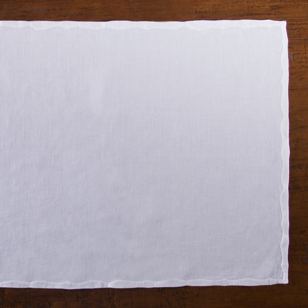 Francês Estate<br>Placemat - White Linen