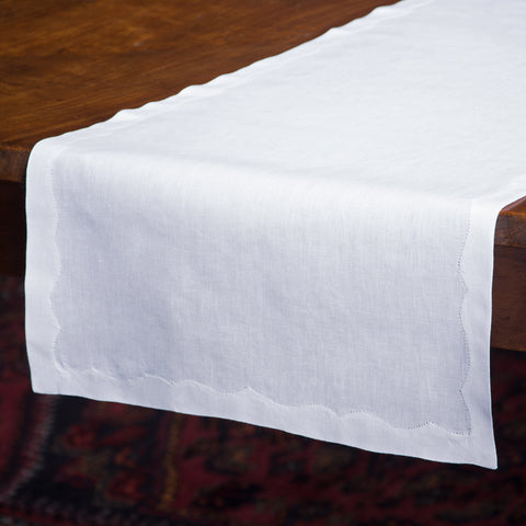 Franc&ecirc;s Estate<br>Runner - White Linen