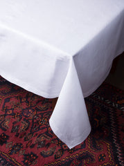 Franc&ecirc;s Estate<br>Tablecloth - White Linen
