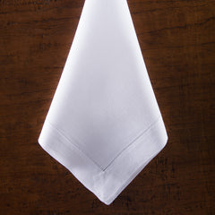Heirloom Estate<br>Napkin - White Linen