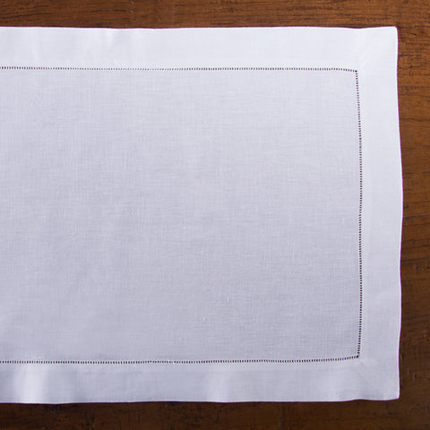 Heirloom Estate<br>Placemat - White Linen