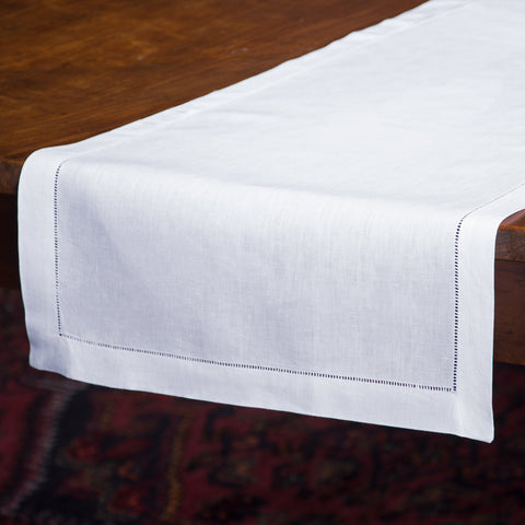 Heirloom Estate<br>Runner - White Linen