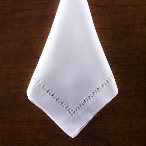 Henry Estate<br>Napkin - White Linen