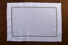 Henry Estate<br>Placemat - White Linen