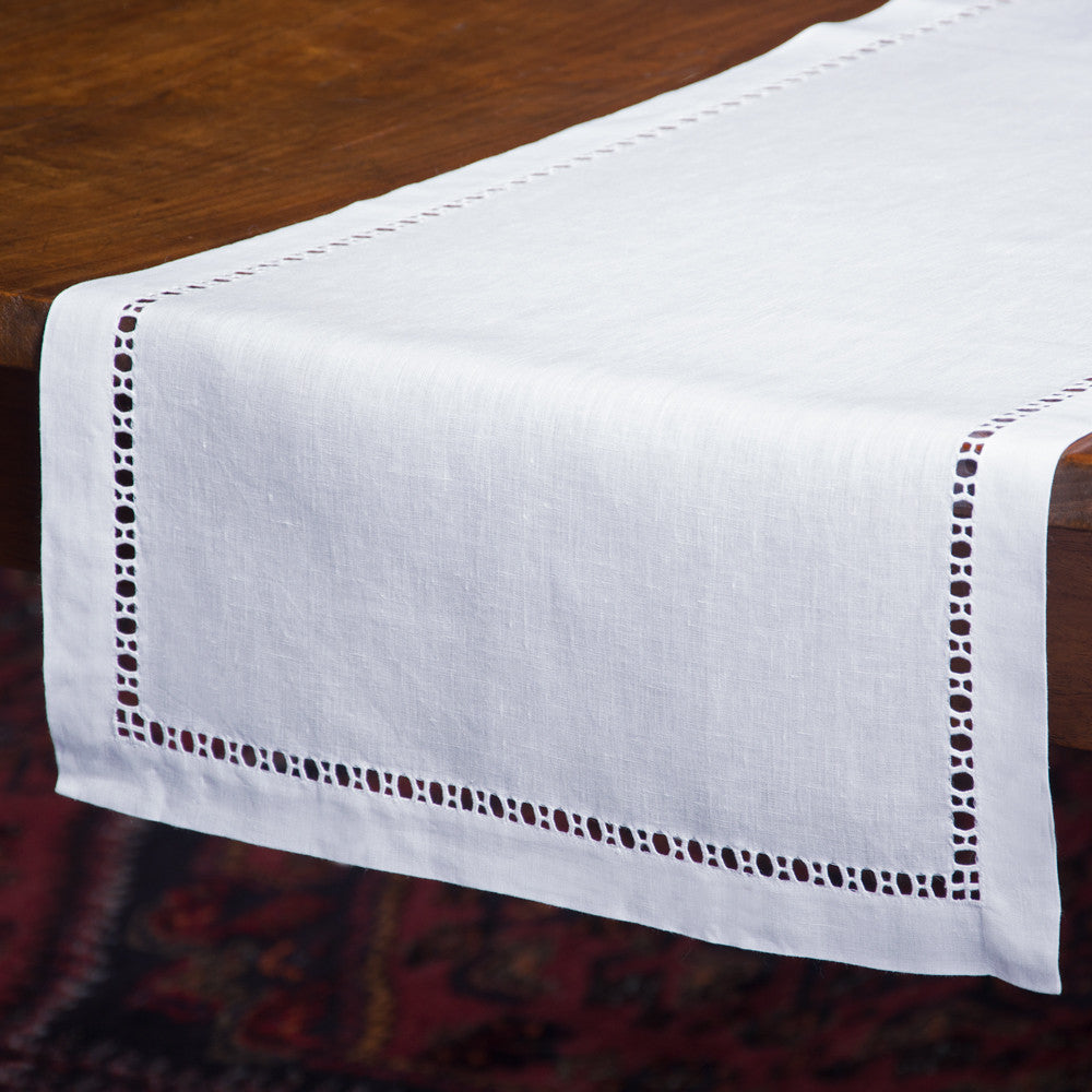 Henry Estate<br>Runner - White Linen
