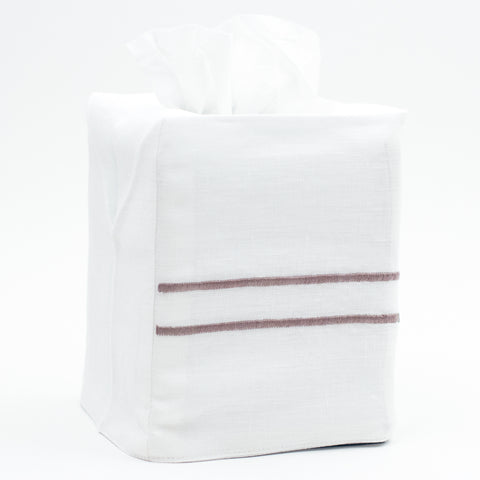 Greenwich Hotel<br>Tissue Box Cover - Italian Linen<br>8 Colors