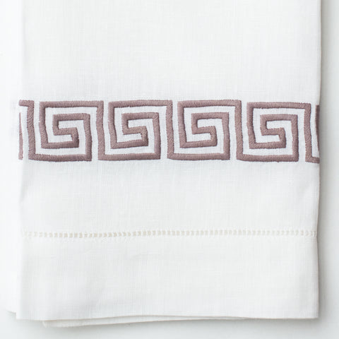 Greenwich Key<br>Hand Towel - Italian Linen<br>8 Colors