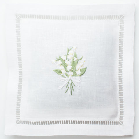 Lily of the Valley<br>Sachet - White Linen
