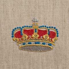 Medieval Crown<br>Hand Towel - Fleck Linen<br>+50 In Stock