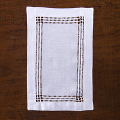 Panier Estate<br>Cocktail Napkin - White Linen