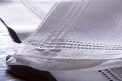 Panier Estate<br>Placemat - White Linen