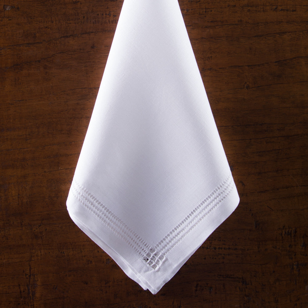 Panier Estate<br>Napkin - White Linen