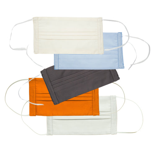 Italian Cotton Face Masks<br>Set of 5<br>Assorted