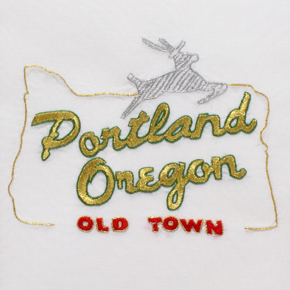 Portland<br>Hand Towel - White Cotton