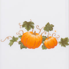 Pumpkins Grande<br>Hand Towel - White Cotton