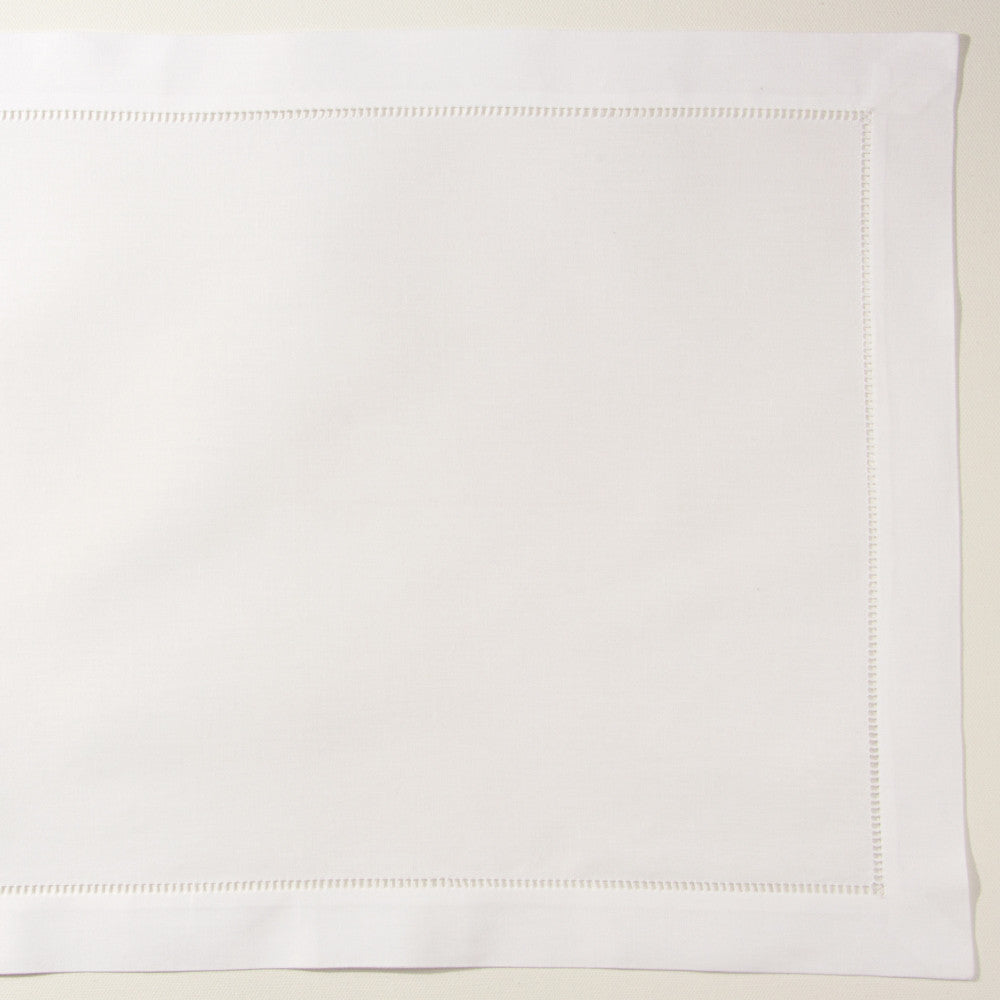 Pure<br>Placemat - White Cotton