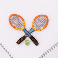 Tennis Mixed<br>Cocktail Set - White Cotton