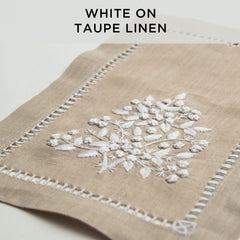 Jardin Estate<br>Runner - Italian Linen<br>6 Colors