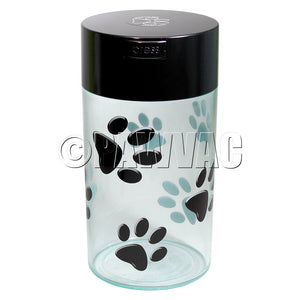 Pawvac Black & Clear & Black Paws