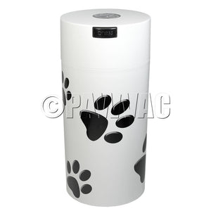 Pawvac White & Black Paws