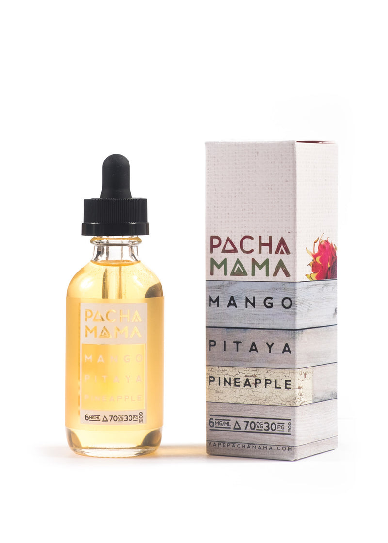 PACHA MAMA E-JUICE 60ML - MANGO PITAYA PINEAPPLE