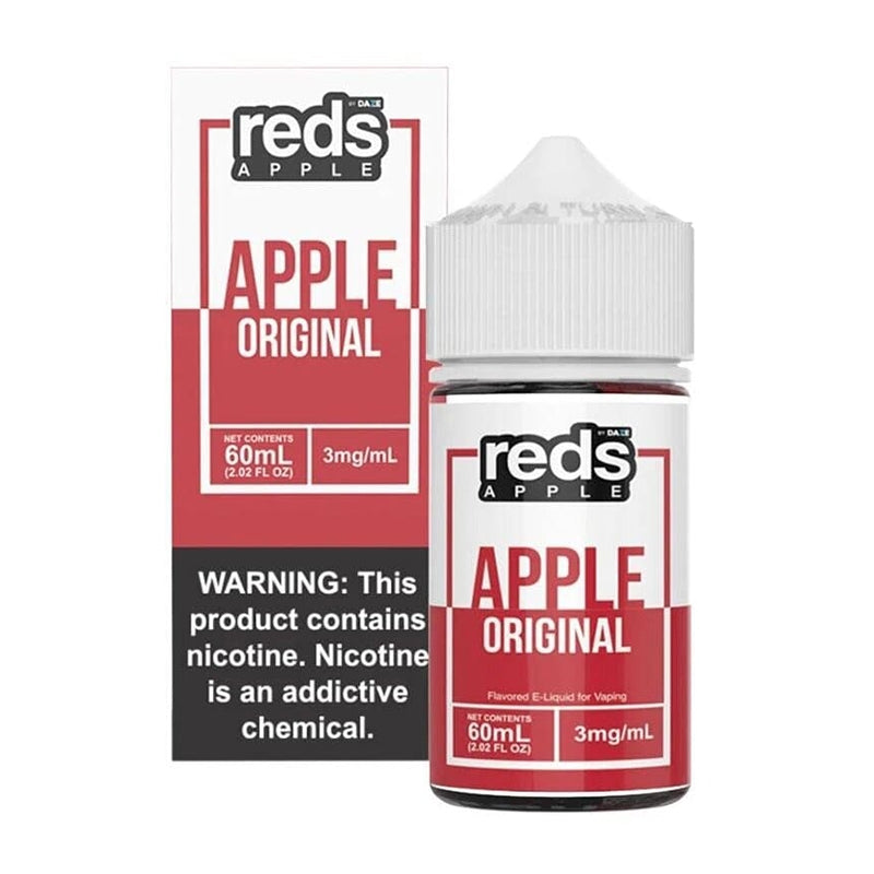 REDS APPLE E-JUICE 60ML - ORIGINAL REDS/ APPLE